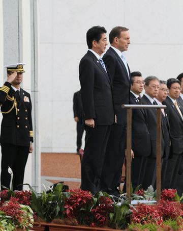 日豪は事実上同盟関係に! 安倍首相の訪問は大成功