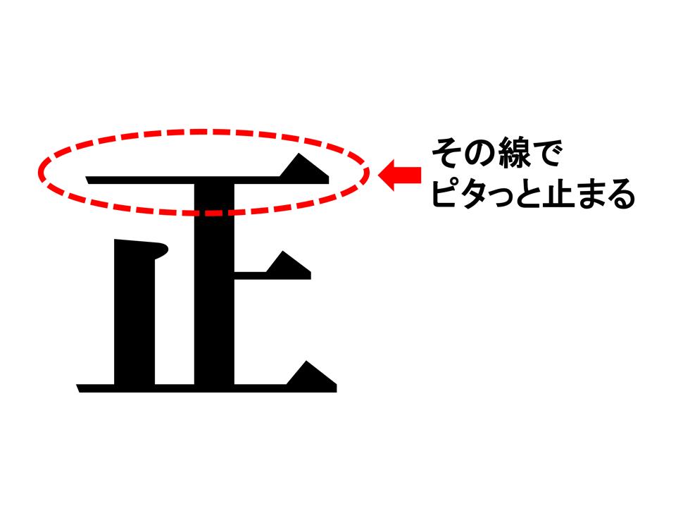 「正」とは「この線で止まれ」という字―規範の重要性