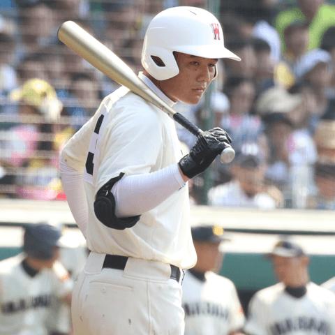 RKK招待高校野球大会で秀岳館戦の最後のバッターとなった清宮幸太郎(早稲田実業)