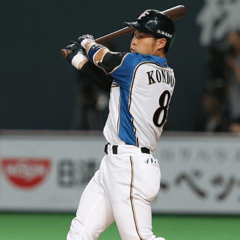 近藤健介(日本ハム)、夢の4割は持ち越し。規定打席未到達でも打ちまくっている男たち パ・リーグ編